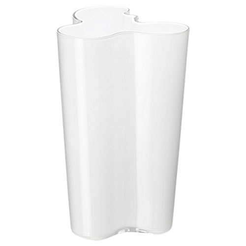 Alvar Aalto Collection Vase 251mm in Opal White
