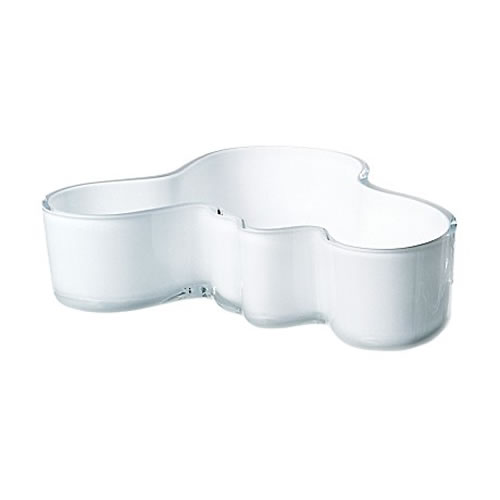 Alvar Aalto Bowl in Opal White 195x50mm