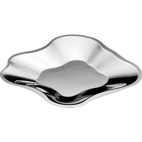 Alvar Aalto Bowl 358mm in Stainless Steel