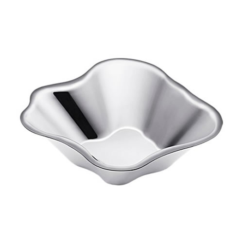 Alvar Aalto Bowl 50x182mm in Stainless Steel