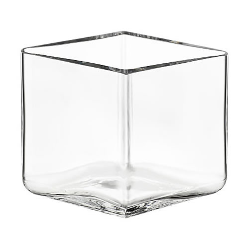 Ruutu Vase 115x80mm Clear
