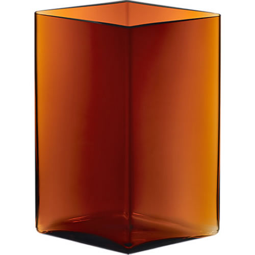 Ruutu Vase 205x270mm Copper