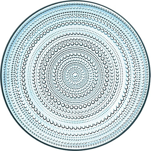 Kastehelmi Plate 315 mm in Light Blue