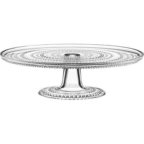 Kastehelmi Cake Stand 315 mm in Clear