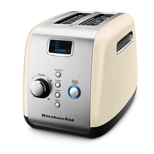 KMT223 2 Slice Toaster Almond Cream