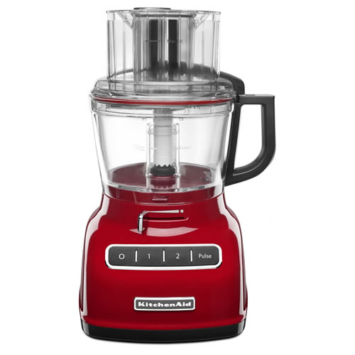 KFP0933 Food Processor in Empire Red