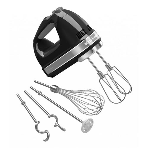 Artisan 9 Speed Hand Mixer in Onyx Black