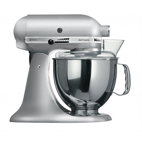 KSM150 Artisan Stand Mixer in Contour Silver