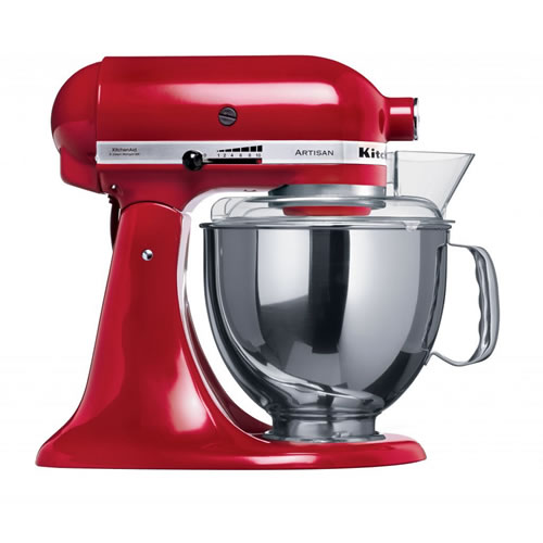 Artisan Stand Mixer KSM150 in Empire Red