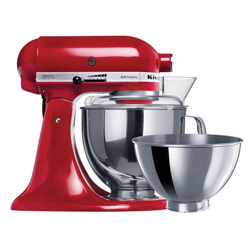 KSM160 Empire Red Artisan Stand Mixer