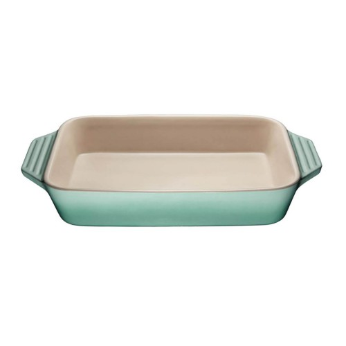 Deep Rectangular 32cm Dish in Sage