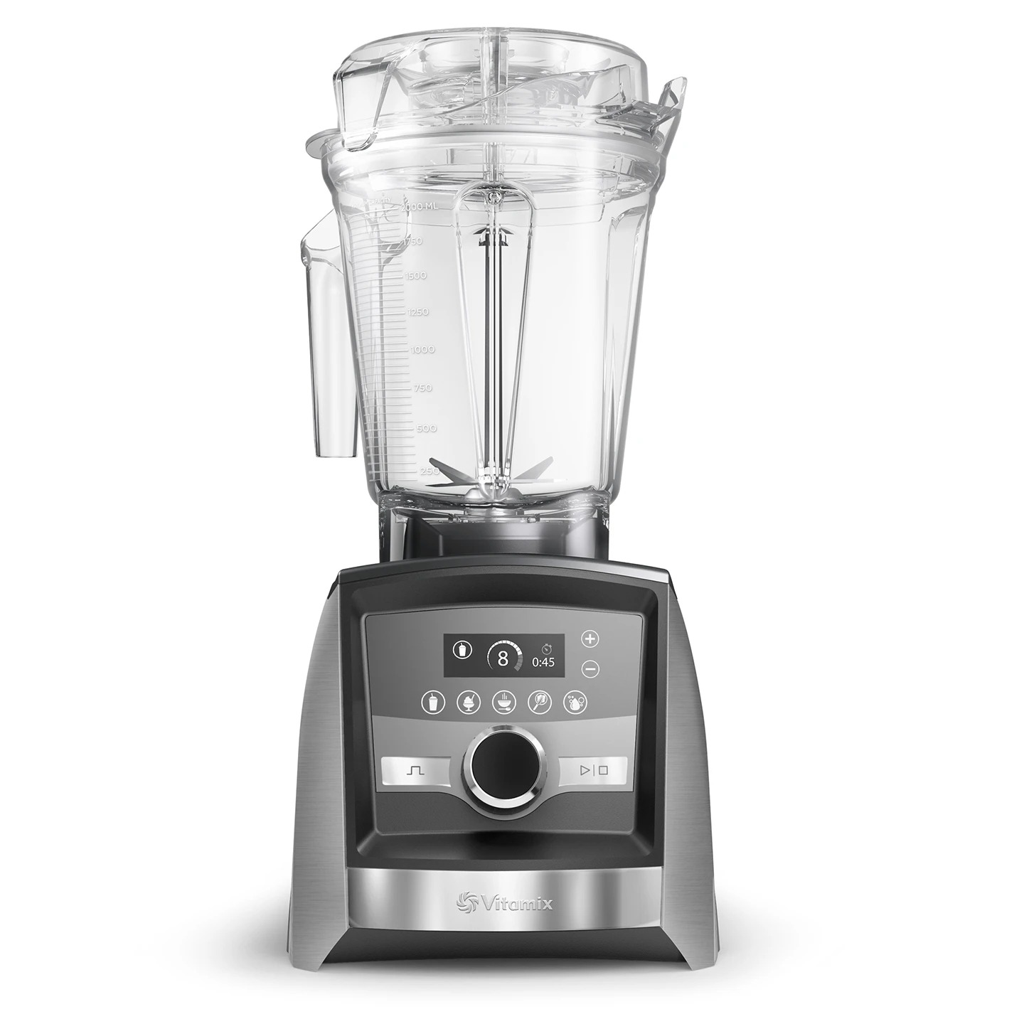 A3500I Ascent Brushed Stainless Steel Blender