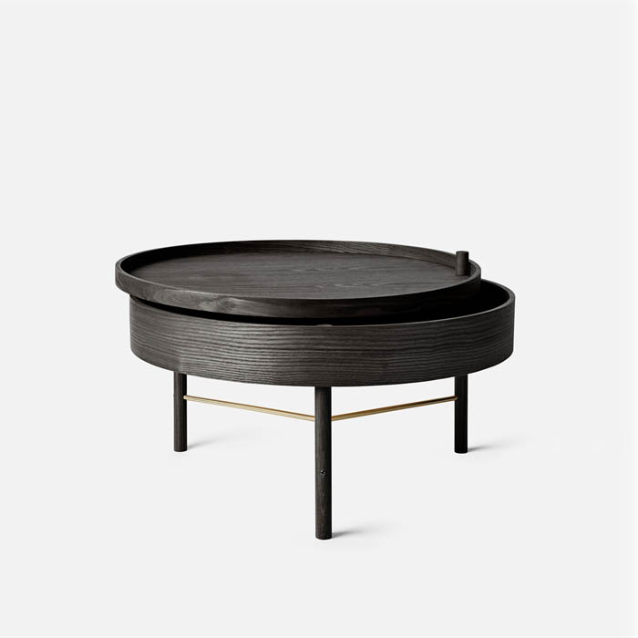 Black Turning Table