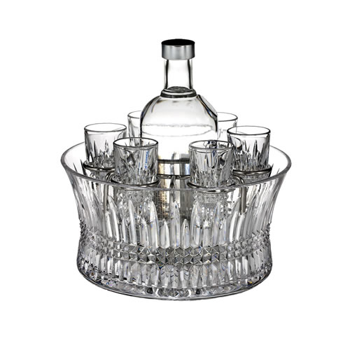 Lismore Diamond Vodka Shot Glasses