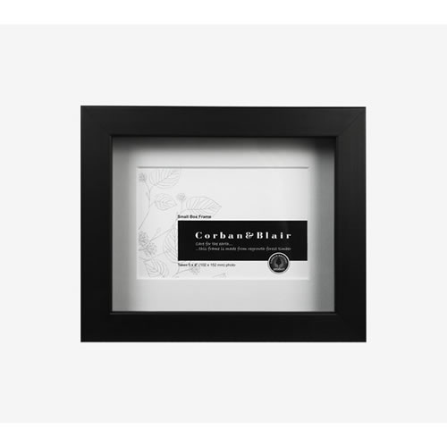 Small Box Frame in Black 6x4