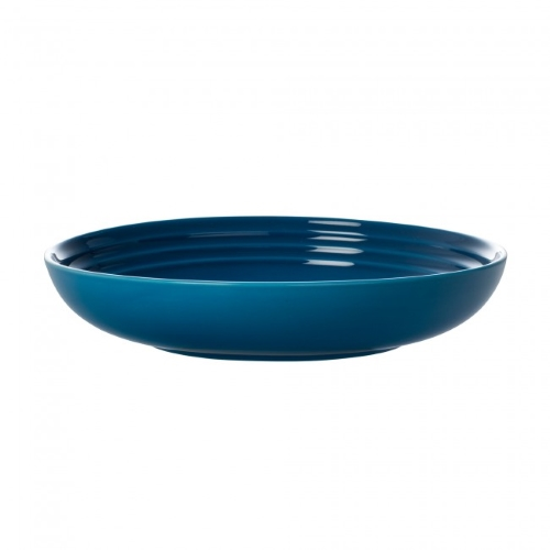 Stoneware Pasta Bowl 22cm in Marseille Blue