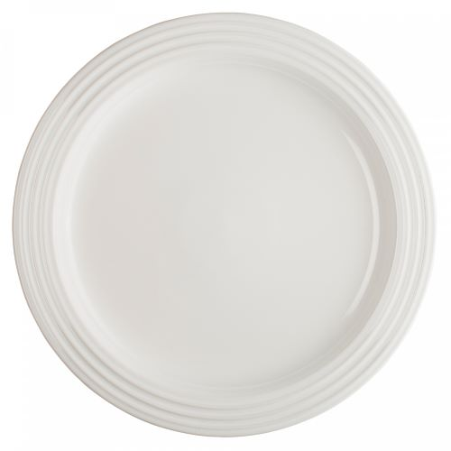 Stoneware Dinner Plate 27cm in White