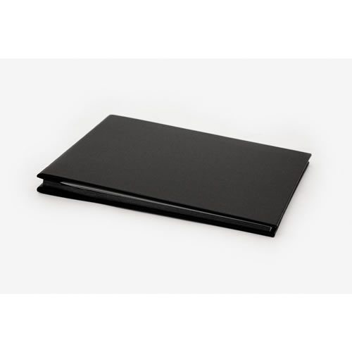 Album Black Bound in Book Cloth - Small