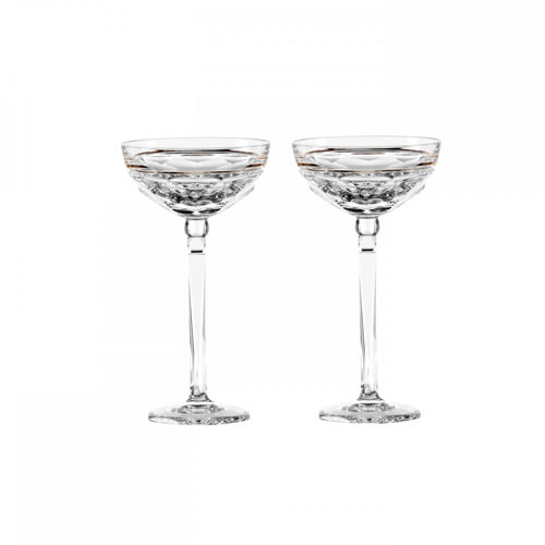 Elysian Champagne Coupe Pair