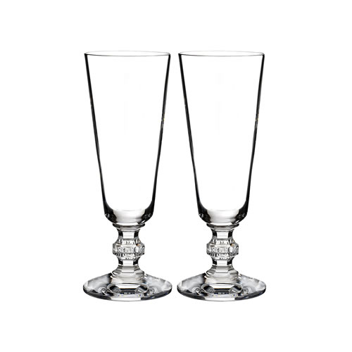 Waterford Crystal Town & Country Ashton Flute Pair