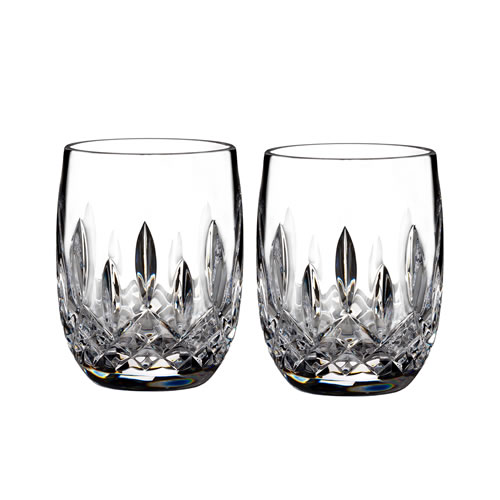 Waterford Crystal Lismore Rounded Tumbler Pair