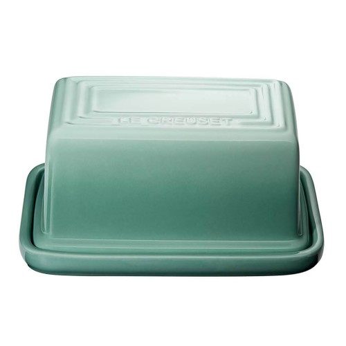 Butter Dish in Sage