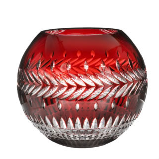 Meg Ruby Rose Bowl 30  cm