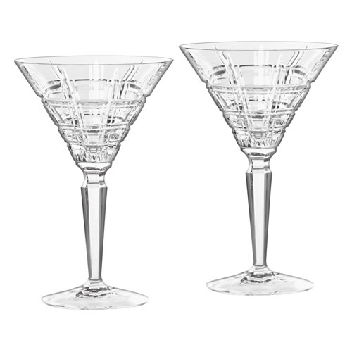 Marquis Crosby Martini Glasses