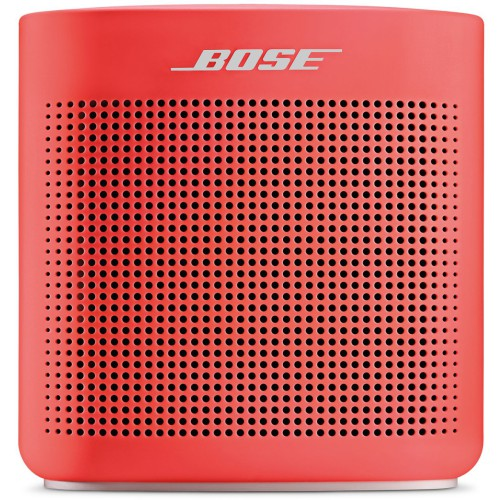 Bose SoundLink II Colour Portable Bluetooth Speaker Coral Red