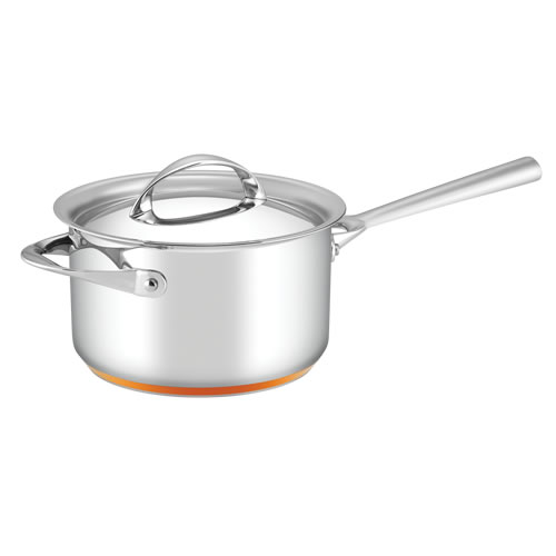Per Vita Covered Saucepan with Copper Base 20cm 3.8L