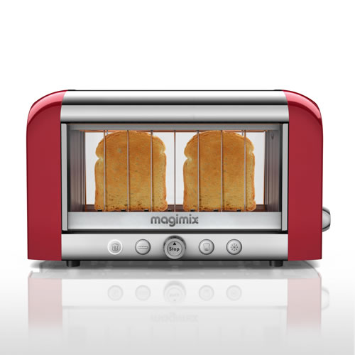2 Slice Vision Red Toaster