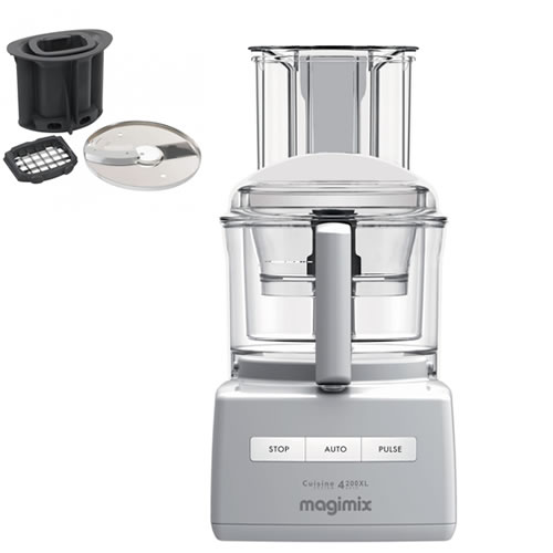 Magimix 4200 with XL Feed tube White with Bonus Dicing kit valued at $199