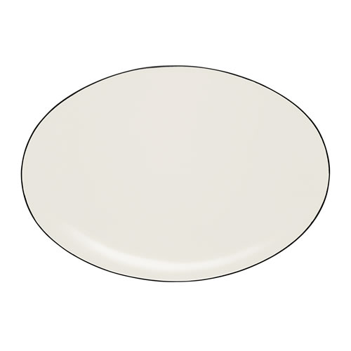 Colorwave Graphite Oval Platter