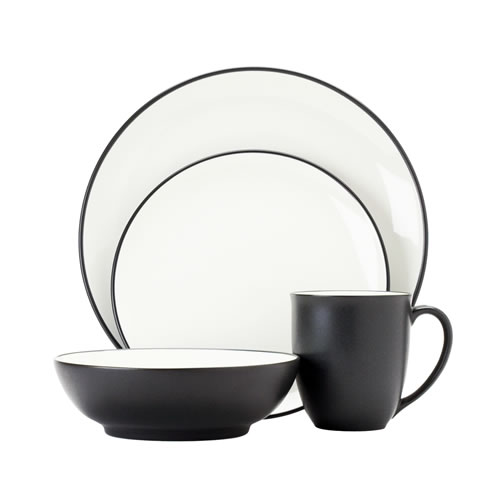 Colorwave Graphite 16pce Place Setting