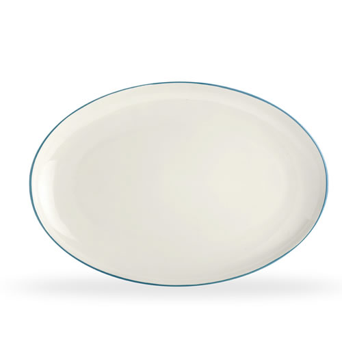 Colorwave Turquoise Oval Platter