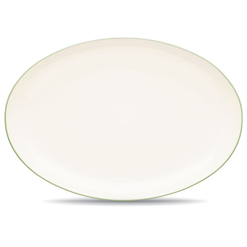 Colorwave Apple Green Oval Platter