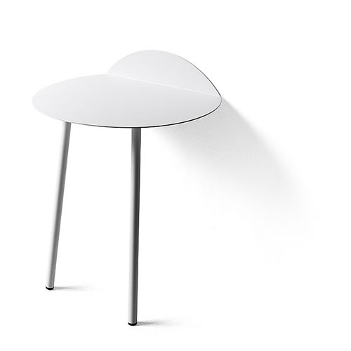 Yeh Wall Table Low in White
