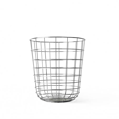 Wire Bin in Chrome