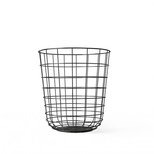 Wire Bin in Black