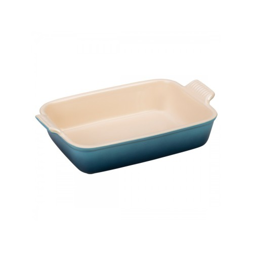 Marseille Blue Heritage Deep Rectangular Dish 19cm