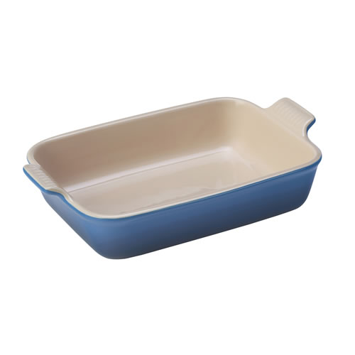 Marseille Blue Heritage Deep Rectangular Dish 26cm
