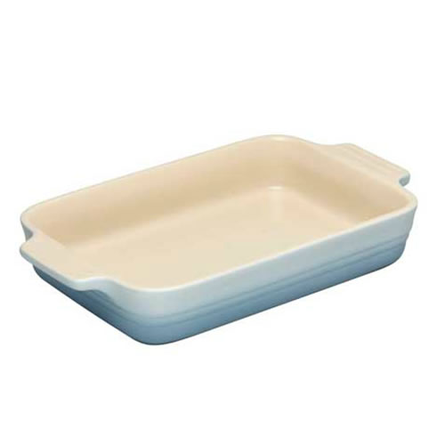 Stoneware Rectangular Dish 26cm in Coastal Blue