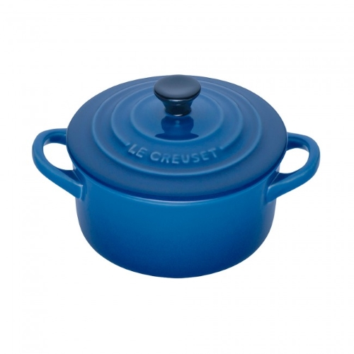 Marseille Blue Mini Round Casserole