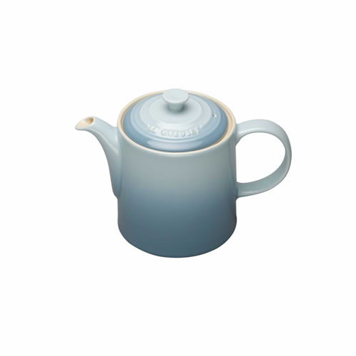 Stoneware Grand Teapot in Coastal Blue