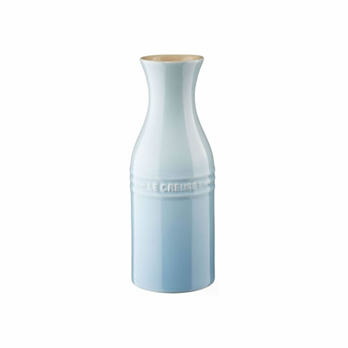 Stoneware Carafe 350ML without Cork in Coastal Blue