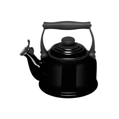 Satin Black Traditional Kettle 2.1L