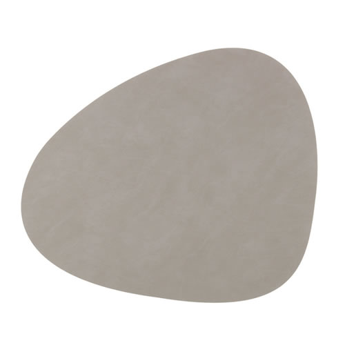 LIND DNA Table Mat Light Grey Curve L