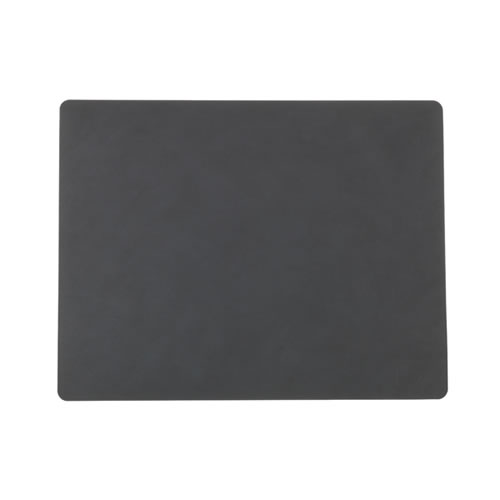 LIND DNA Table Mat Anthracite Square L