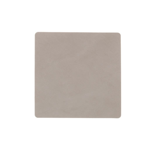 LIND DNA Light Grey Square Coaster