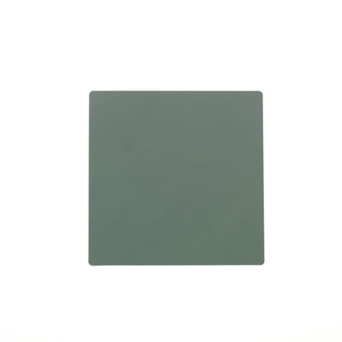 LIND DNA Pastel Green Square Coaster